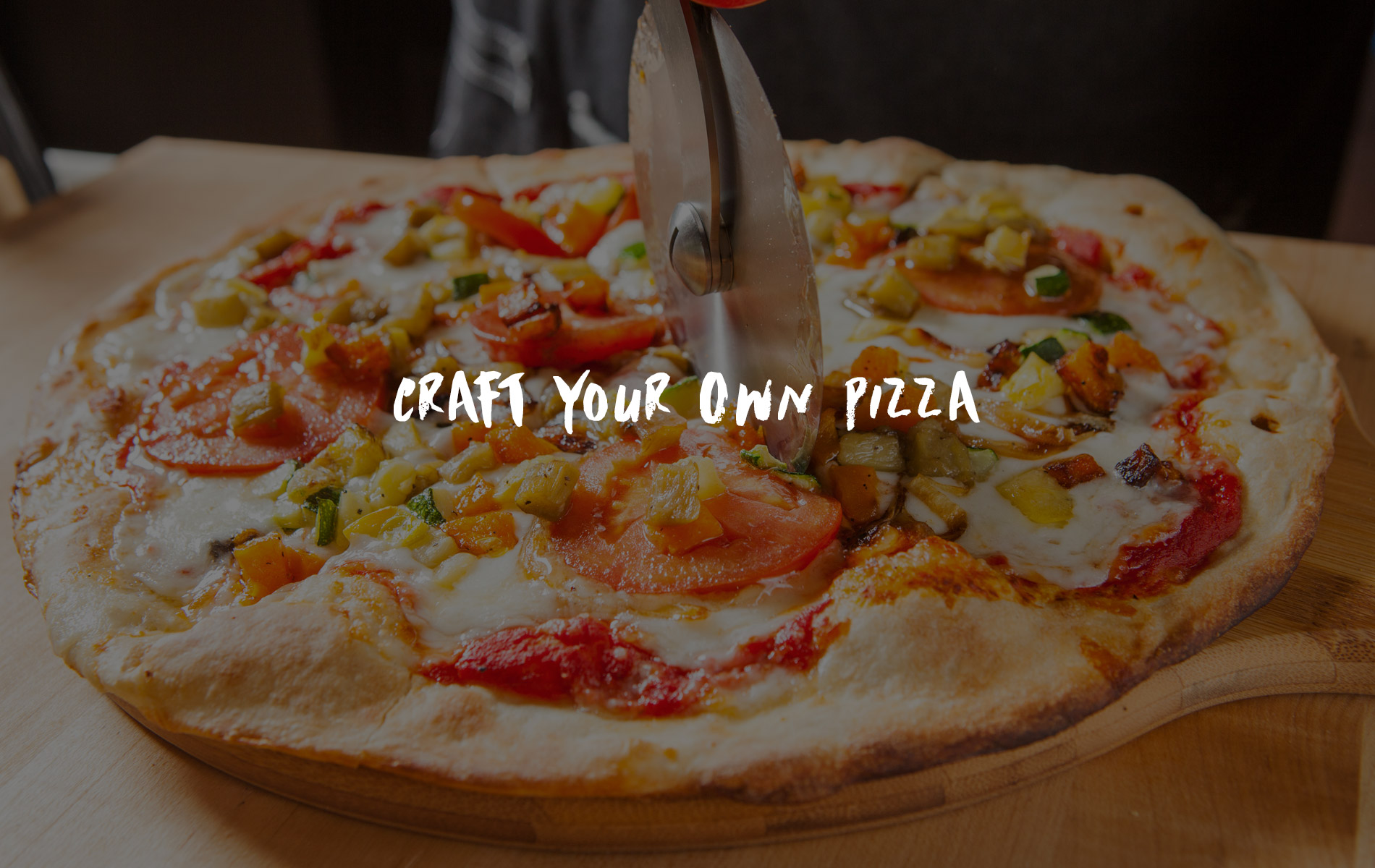Craft Your Own Pizza